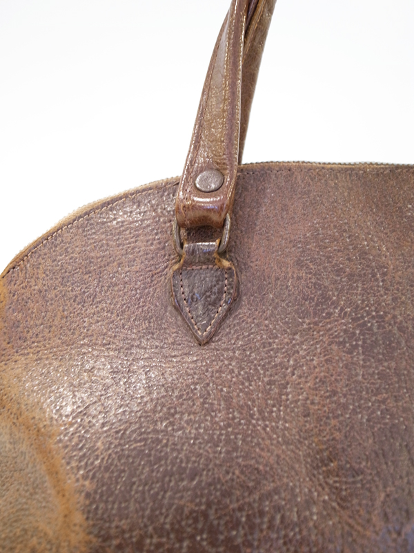 20s British leather bag