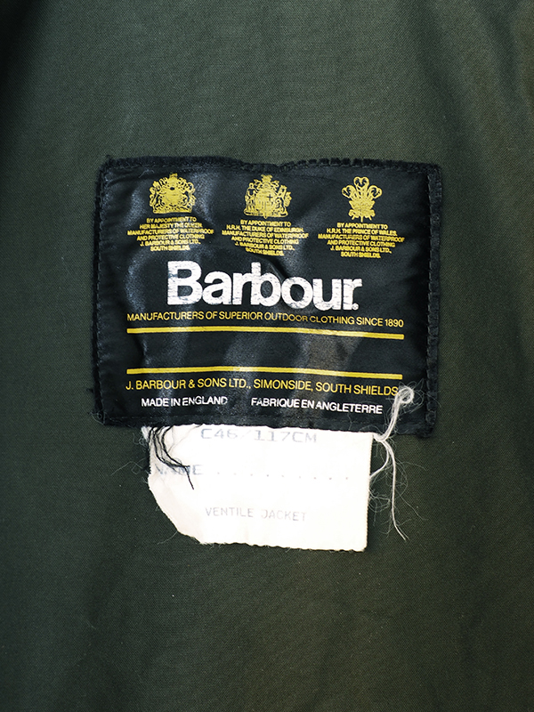 early90s Barbour
