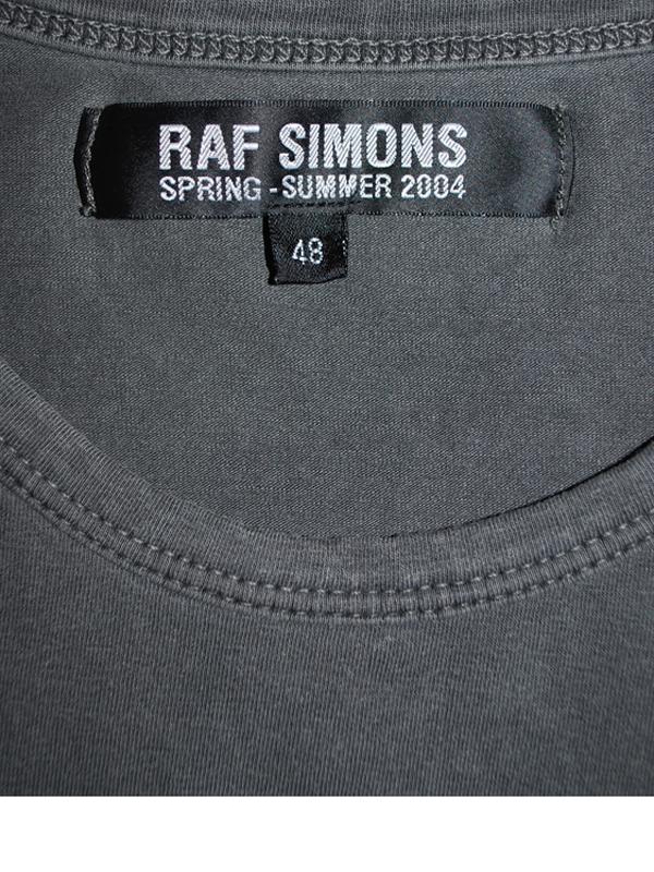 RAF SIMONS 2004 SS