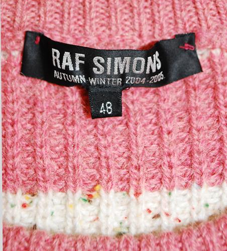 Raf Simons 2004 AW