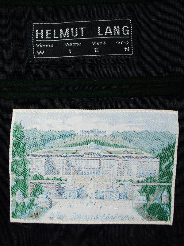 HELMUT LANG 80s