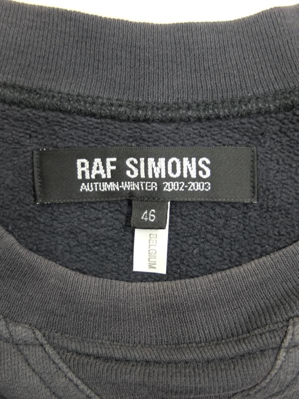 RAF SIMONS 2002 AW
