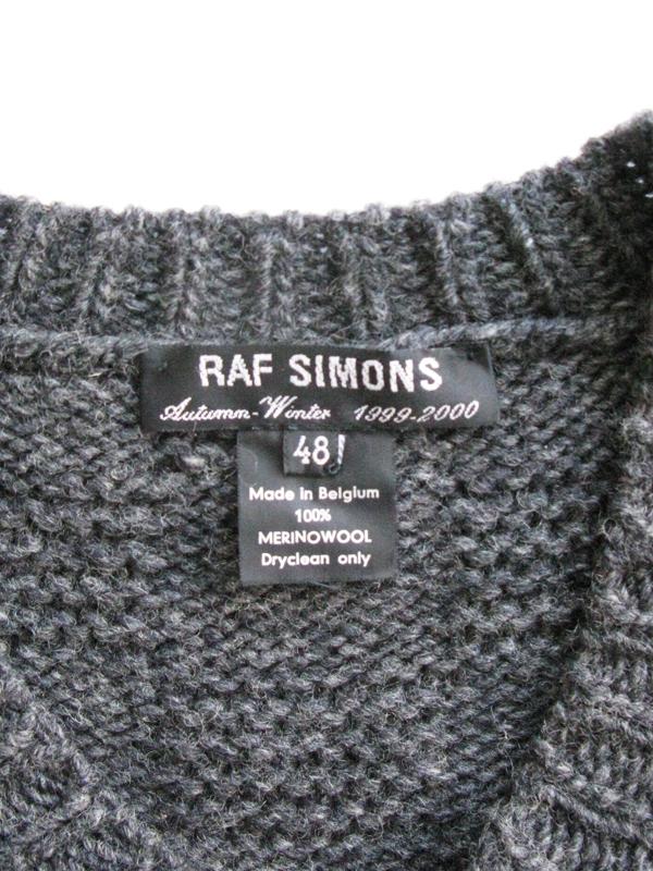 RAF SIMONS 1999 AW