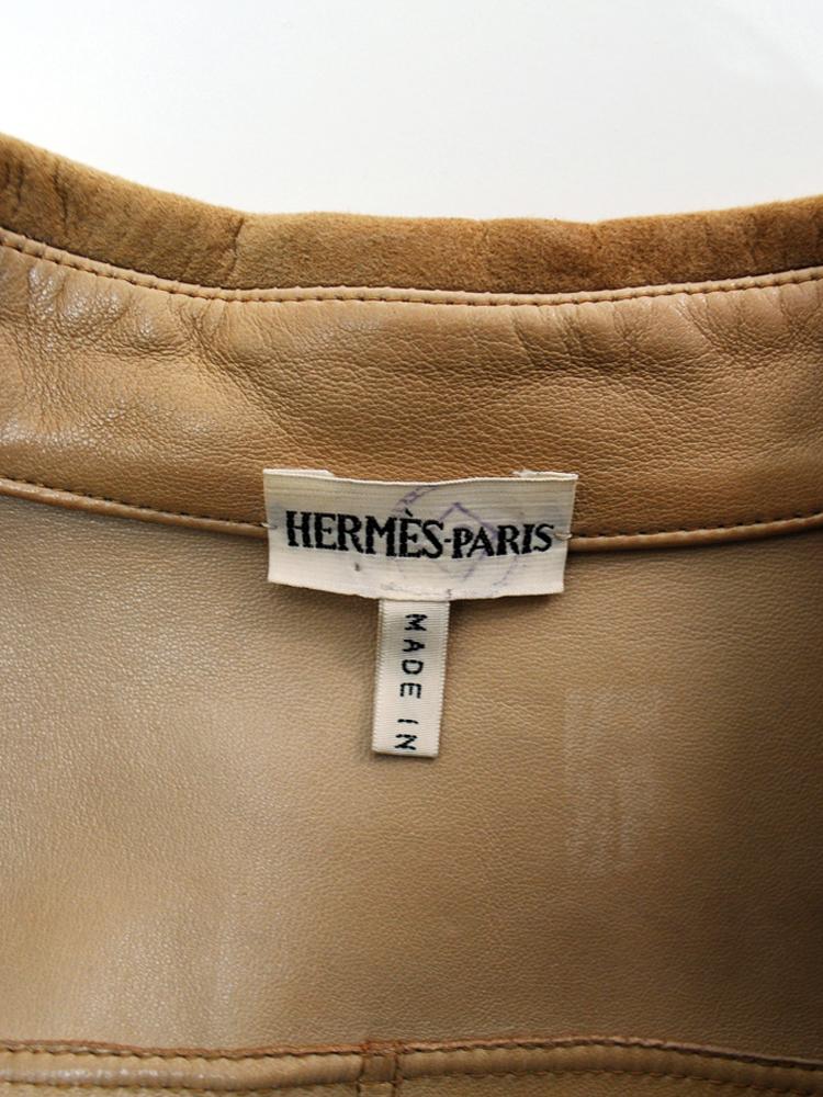 HERMES by Martin Margiela 1999 SS