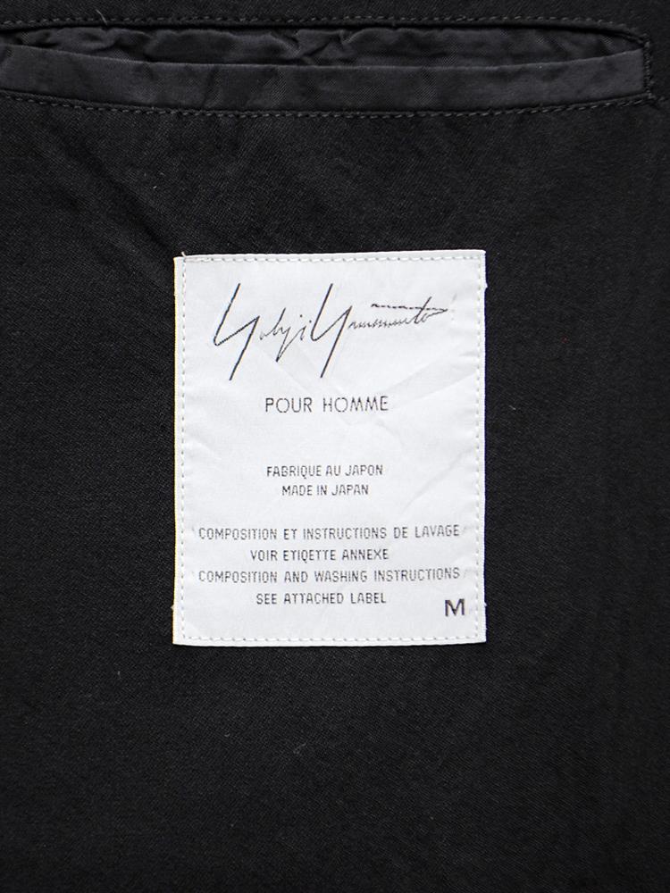 Yohji Yamamoto POUR HOMME 1999 SS