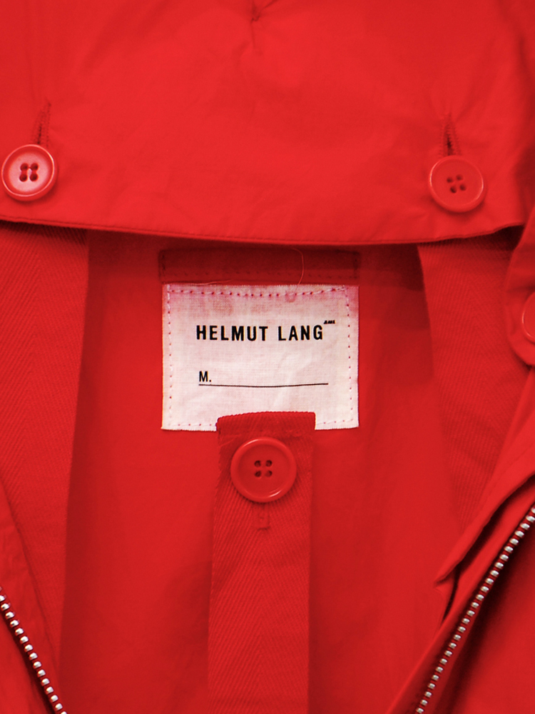 Helmut Lang 1999 AW