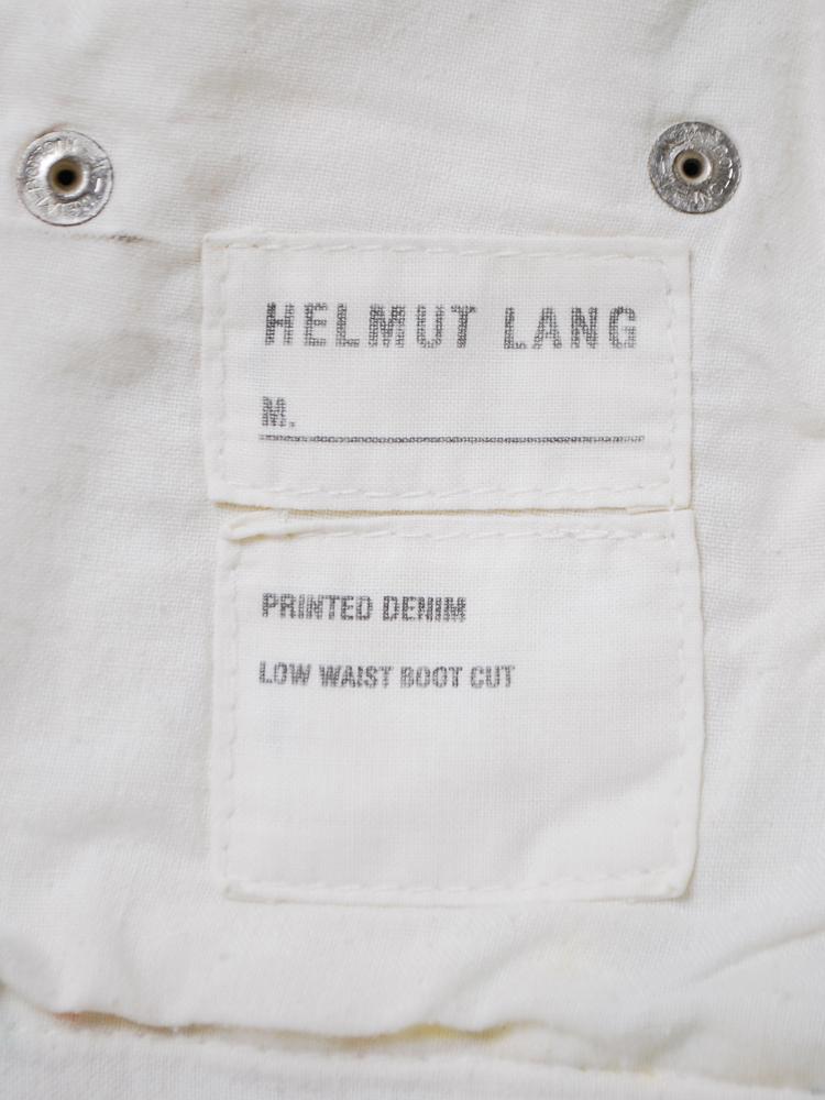 Helmut Lang 2005 SS