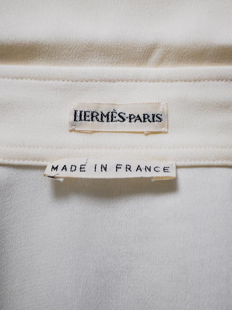 HERMES by Martin Margiela 2004 SS