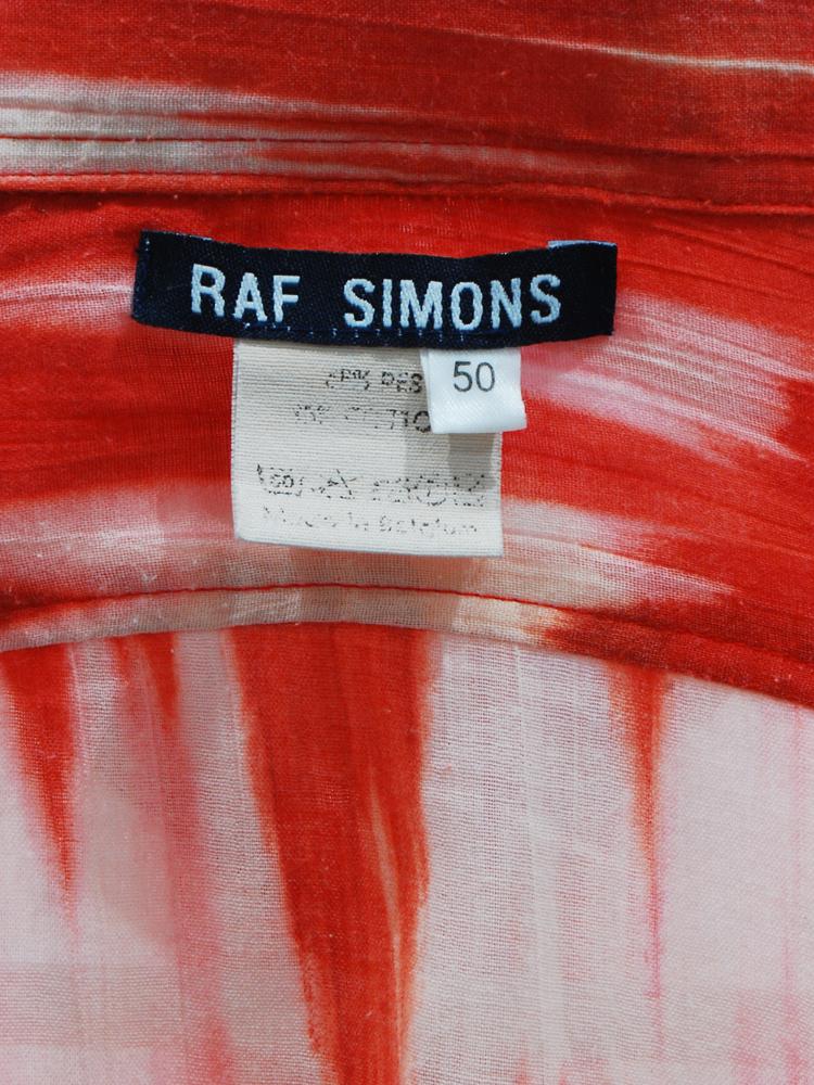 RAF SIMONS 1998 SS