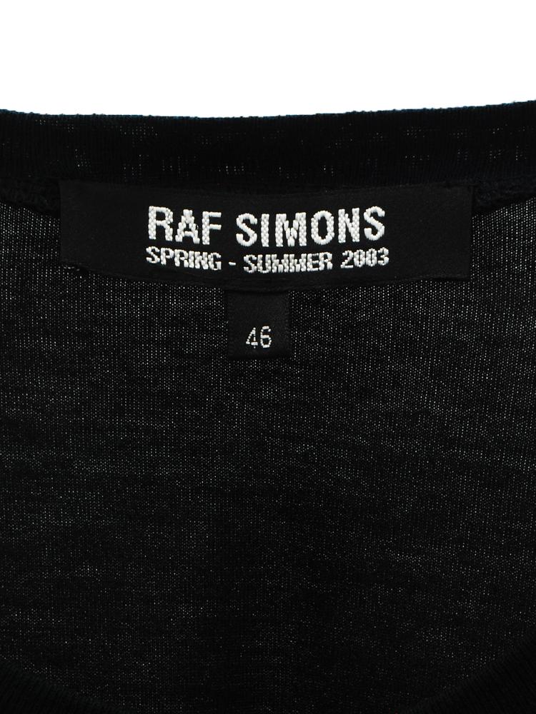 RAF SIMONS 2003 SS