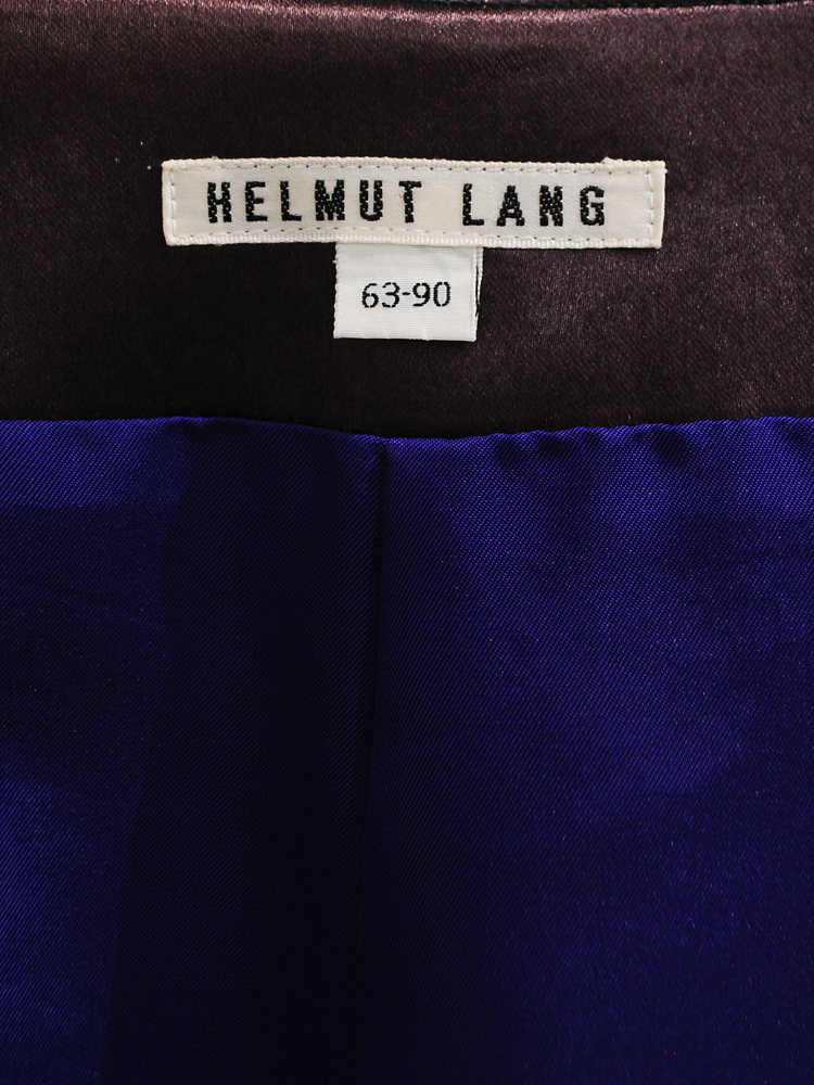 Helmut Lang 1989 AW
