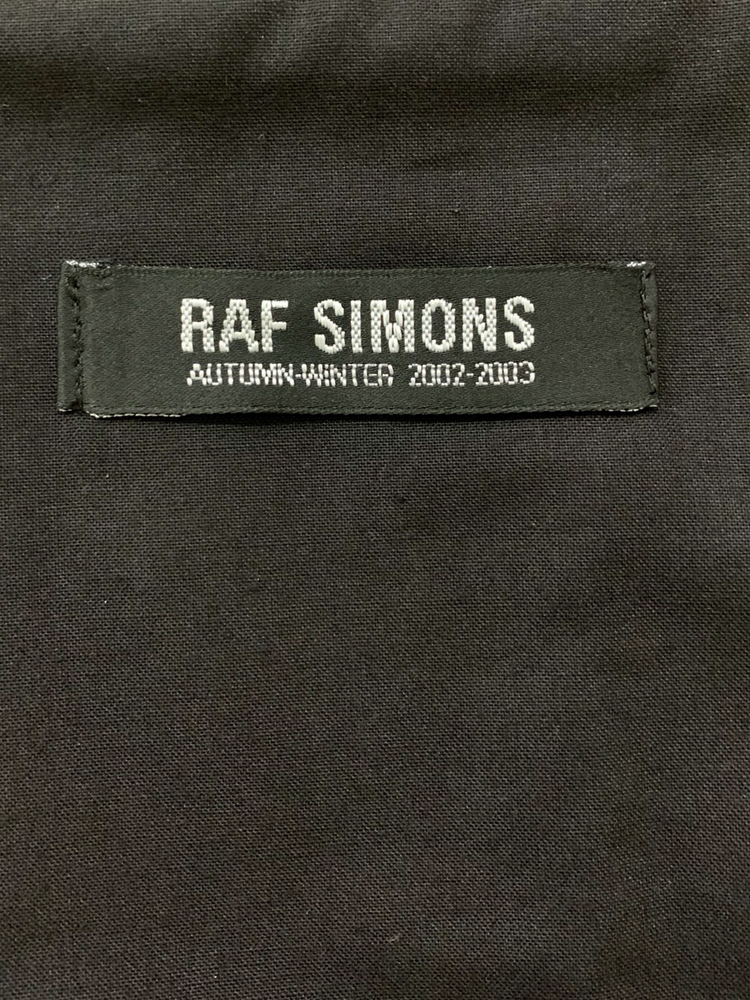 RAF SIMONS 2002-03 AW