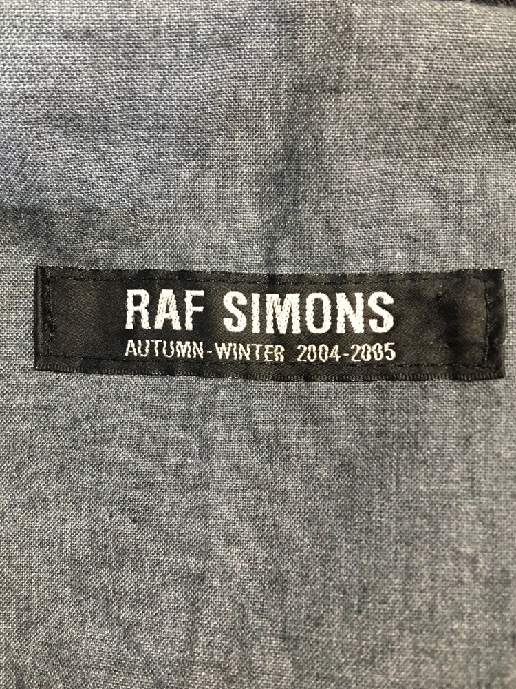 RAF SIMONS 2004-05 AW