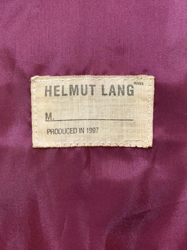 Helmut Lang 1997 AW