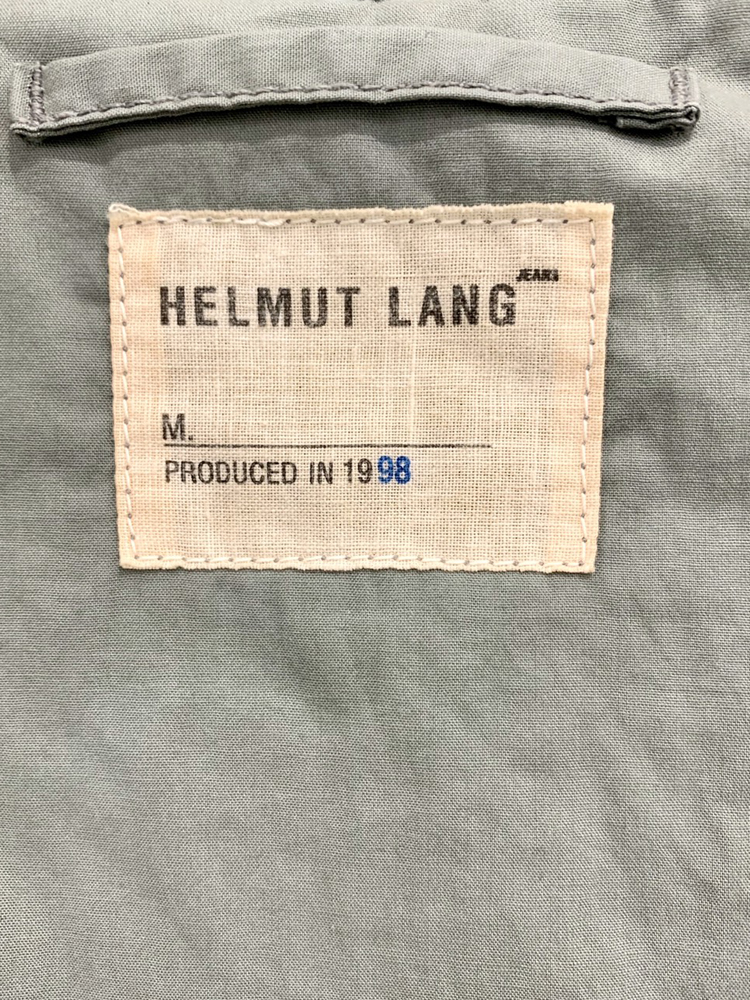 Helmut Lang 1998 AW