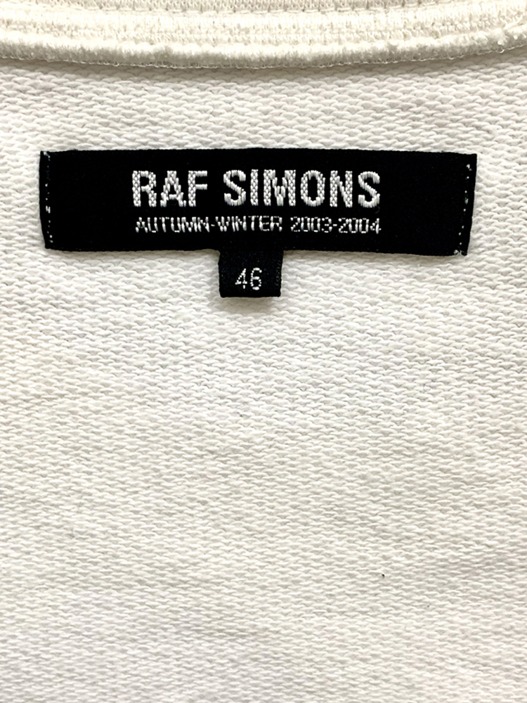 RAS SIMONS</br>2003-04 AW