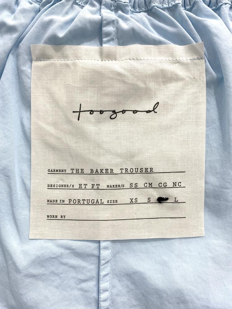 toogood</br>The Baker Trouser M