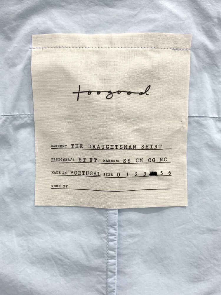 toogood</br>The Draughtsman Shirt 4