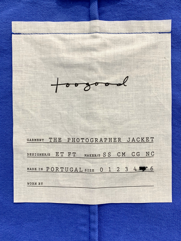 toogood</br>The Photographer Jacket 5