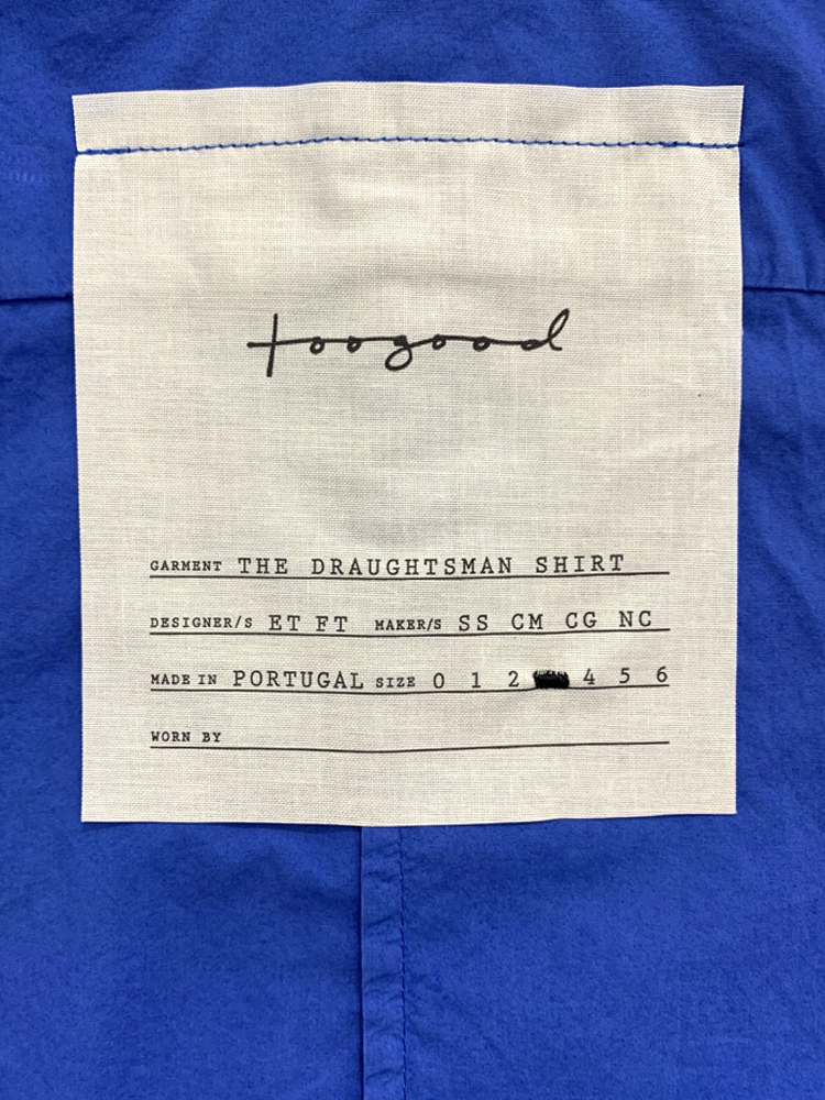 toogood</br>The Draughtsman Shirt 3