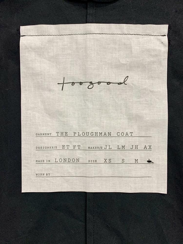 toogood</br>The Ploughman Coat M
