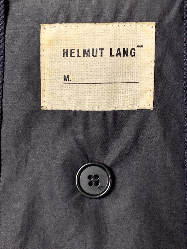 Helmut Lang<BR>1999 AW