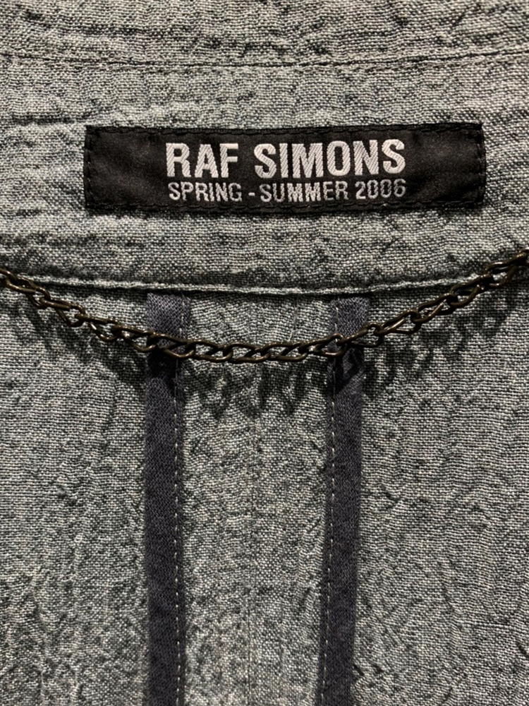 RAF SIMONS</br>2006 SS