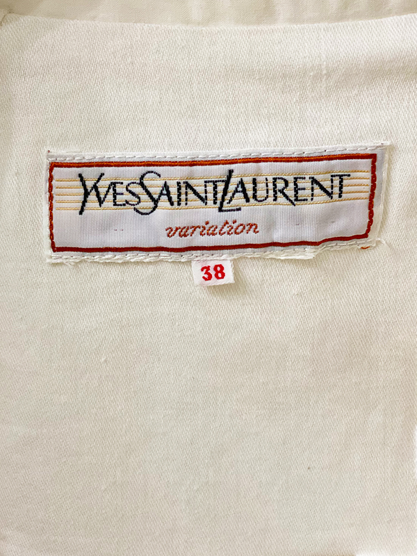 Late 1970s Yves Saint Laurent