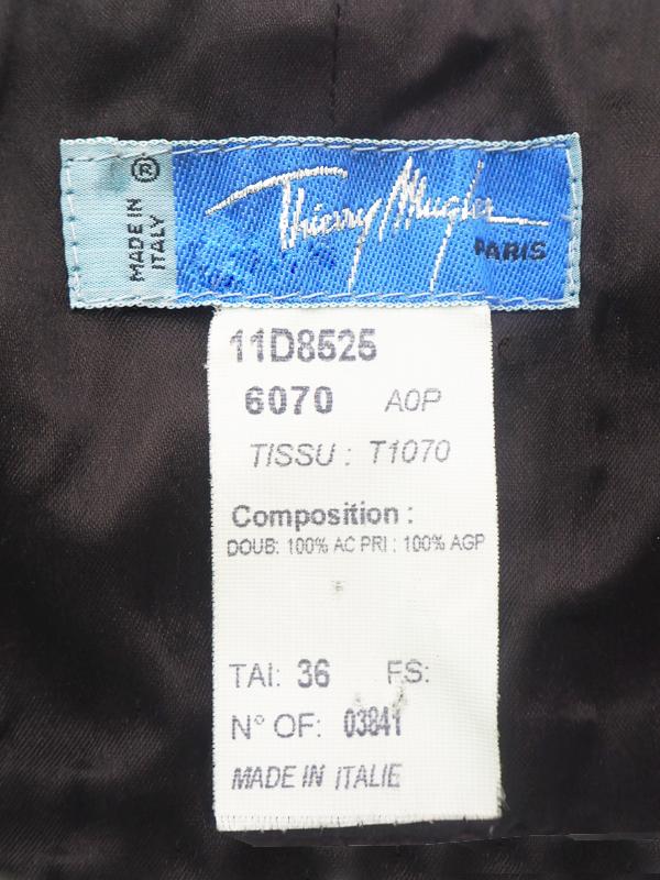 1980s Thierry Mugler