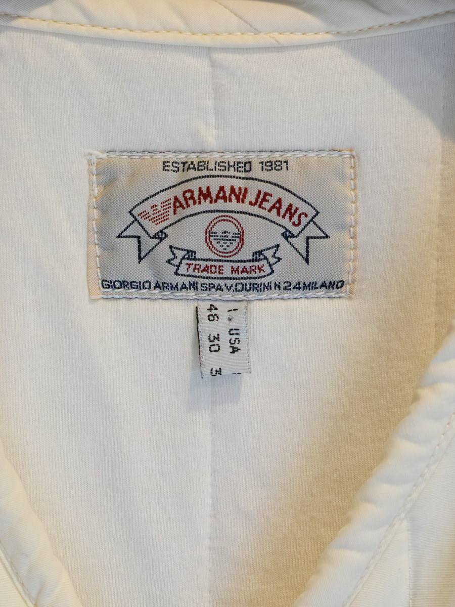 80s Armani Jeans