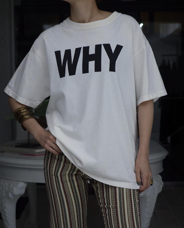 1990s Yoko Ono, Why / Why Not T-shirt