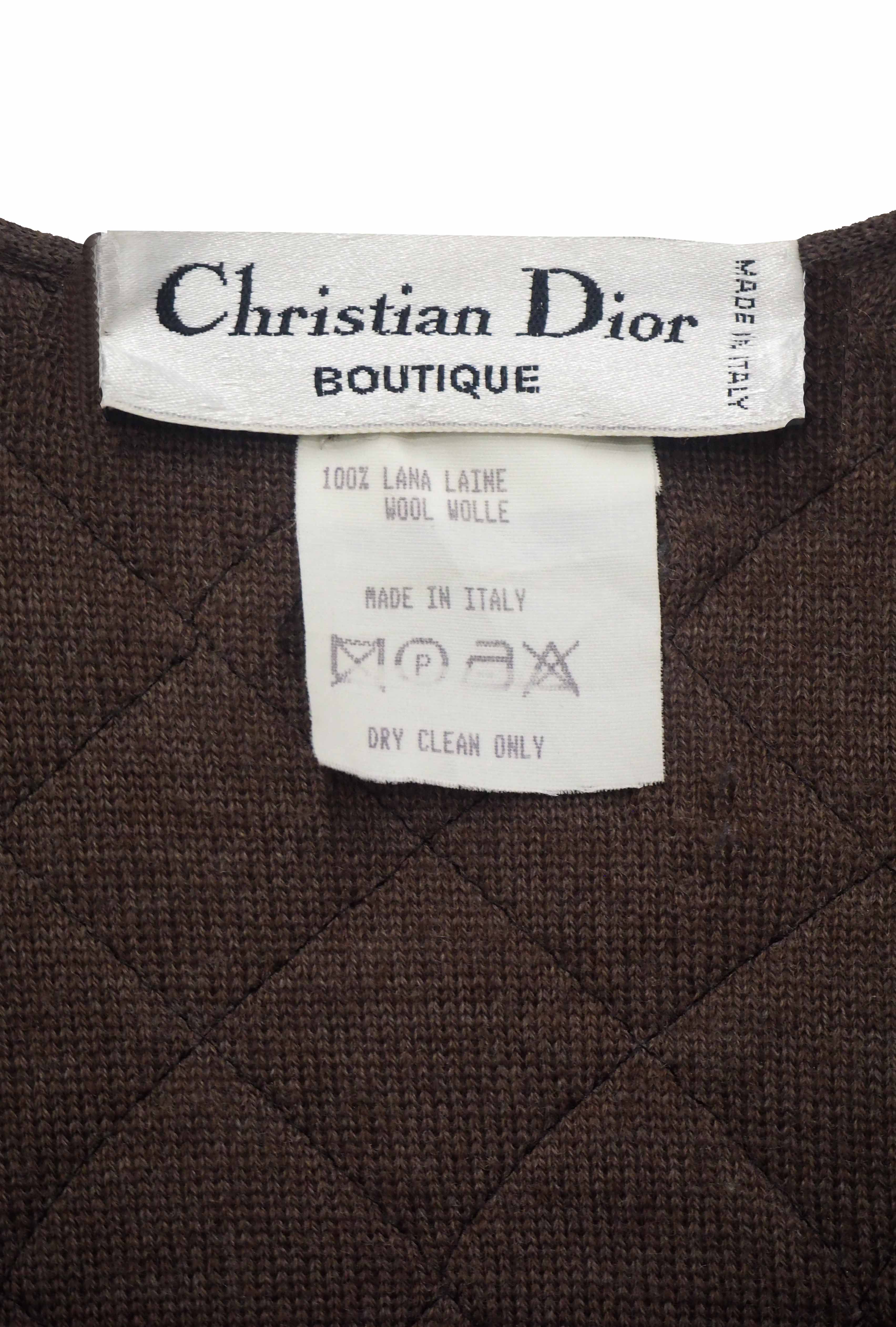 Late 1970s Christian Dior
